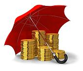 Financial stability and success concept