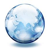 World glass sphere 2