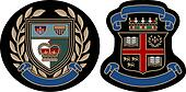 royal college badge design