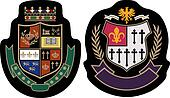 royal fashion college badge