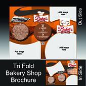 Tri Fold Bakery Shop Brochure