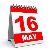 Calendar. 16 May.