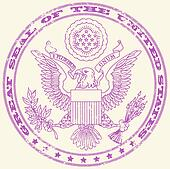 Great seal of the United States sta