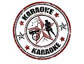 Karaoke stamp