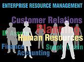 ERM Enterprise Resource Management business people