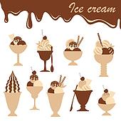 Ice-creams mix