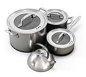 Metal utensils isolate