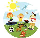 Outdoor Activities Clip Art - Royalty Free - GoGraph