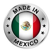 Made In Mexico Silver Badge