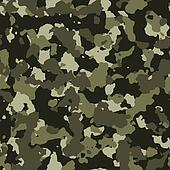 Jungle seamless camo pattern