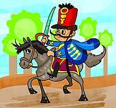 Hungarian cavalryman
