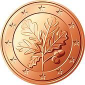 vector Money euro cent germany