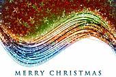 Fantastic Christmas wave design