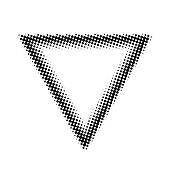 halftone triangle