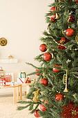 Big tree and Christmas present