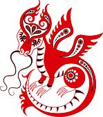Chinese zodiac. Year of the dragon