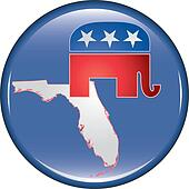 Republican Florida Button