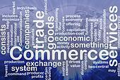 Commerce word cloud