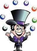 Juggling Bingo Man
