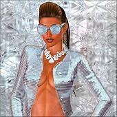 Diamond Girl, sexy fashion.