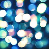 Abstract lights with beauty bokeh. Cool party and disco backgrounds for your design