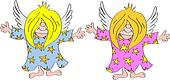 Angels Cartoon