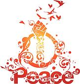 Beautiful Peace vector