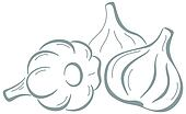 Garlic, pictogram