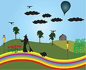 The land Oz