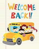 Welcome Back to School bus