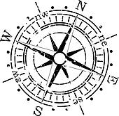 Mariner Compass Clip Art - Royalty Free - GoGraph