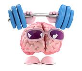 3d Brain strength