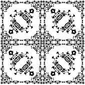 oriental style seamless pattern vector thirteen