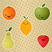 Cheerful Fruits