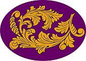 Acanthus classic floral decor