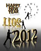 New Year 2012 Graphics