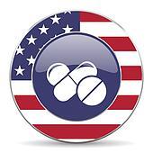 medicine american icon