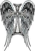 royal classical angel cross