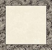 Engraved Damask Copy Space