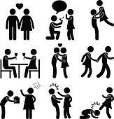 Lover Couple Love Proposal Hug