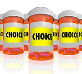 Choice - Choose from Many Prescription Bottles