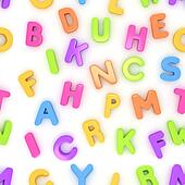 Preschool Seamless Alphabet