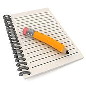 Preschool Notepad