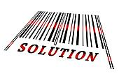 Solution on barcode