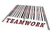 Teamwork on barcode