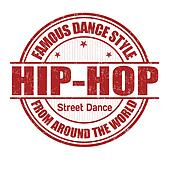 Hip-Hop stamp