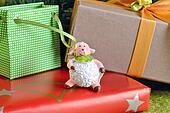2015. Sheep and Christmas New Year