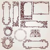 Antique Victorian Frames