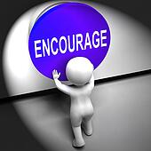 Encourage Pressed Means Inspire Motivate And Energize