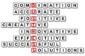 acronym concept of business -combinative,accura te,positive,crea